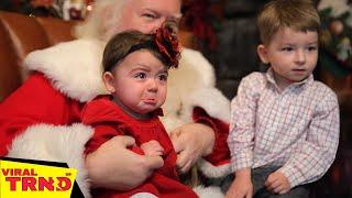 TRY NOT TO LAUGH - Kids vs Santa | Funny CHRISTMAS FAILS | Funny Videos || Viral TRND