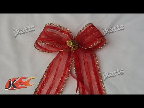 Free Download How To Make An Easy Bow For A Gift Or Christmas Tree ...