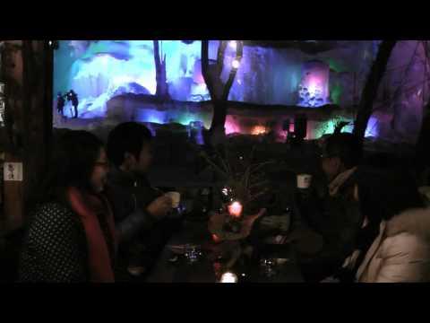 高山市 「氷点下の森」 ~凍るシャボン玉~