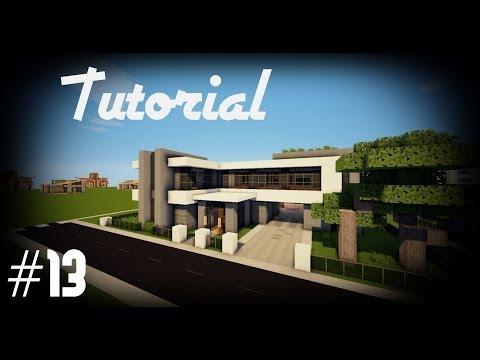 Minecraft: Como hacer una casa moderna   #13 - Tutoriales Construcciones!
