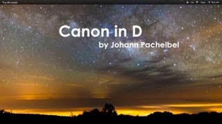 Canon In D Violin With Guitar Ft Per Olov Kindgren