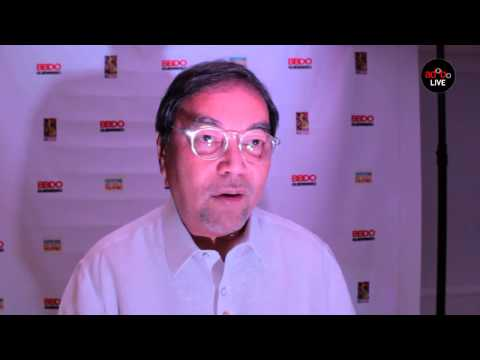 Secretary of Tourism Ramon Jimenez on 'Advertising: It's more fun in the Philippines""