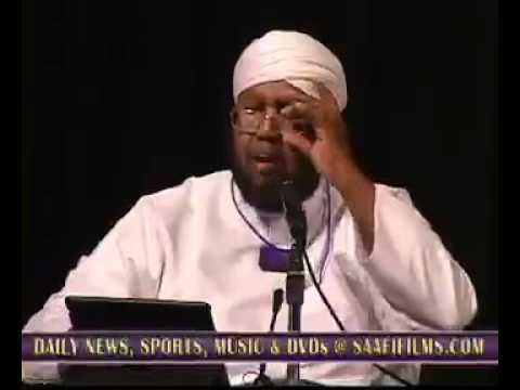"""""""Xaaladda Soomaaliya""""-Qosol ama ooy: Muxaadaradii Sh Maxamed Idris ka jeediyey Mutamarka Minneapolis"""