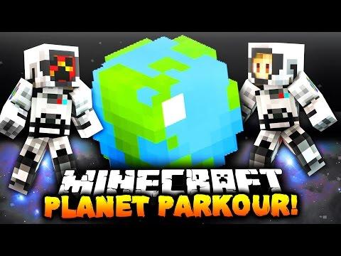 Minecraft PLANET PARKOUR! | with PrestonPlayz & Kenny