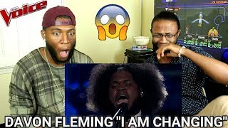 """Download Lagu The Voice 2017 Davon Fleming - The Playoffs: """"I Am Changing"""" (REACTION) Gratis STAFABAND"""