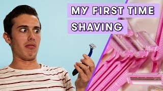 My First Time Shaving | Seventeen Firsts