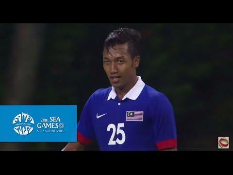 Football Brunei vs Malaysia Full Match Highlights   28th SEA Games Singapore 2015