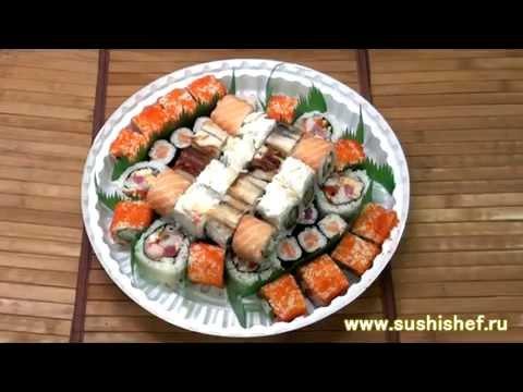 суши торт от Сушишеф