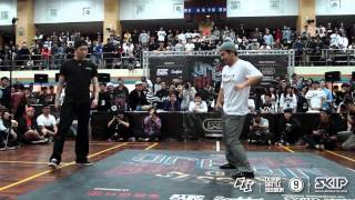 Popping Best16 8 HOAN vs JUN | 20150228 OBS Vol.9