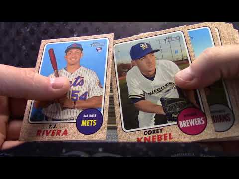 George's 2017 Topps Heritage Baseball Box Break