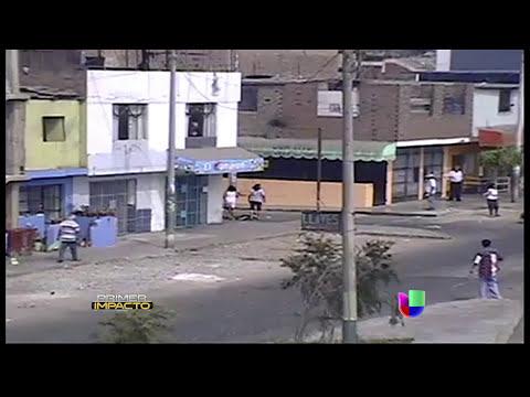 Salvaje golpiza a joven en Perú