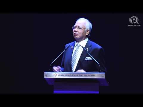Malaysian PM Najib Razak at 27th ASEAN Summit