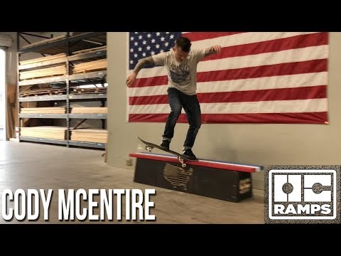 American Flag Butter Bench by Cody McEntire