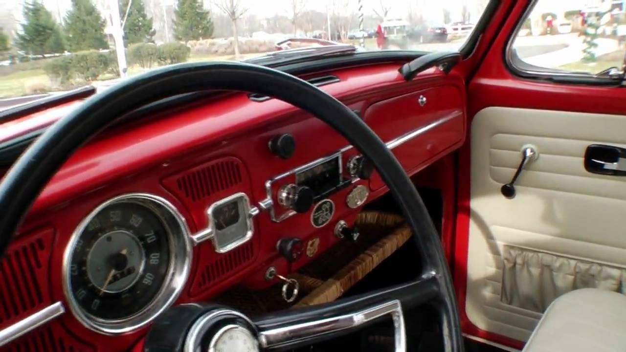 Volkswagen Beetle Ratings >> Classic Vintage 1967 VW Beetle Bug Sunroof Sedan C. Vallone - YouTube
