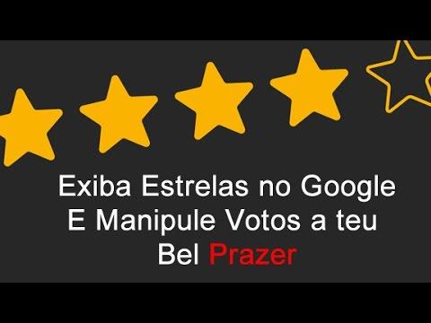 Como exibir estrelas no site e manipular votos