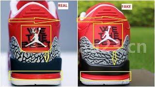 Fake DJ Khaled Air Jordan 3 Grateful Spotted-Quick Ways To Identify Them