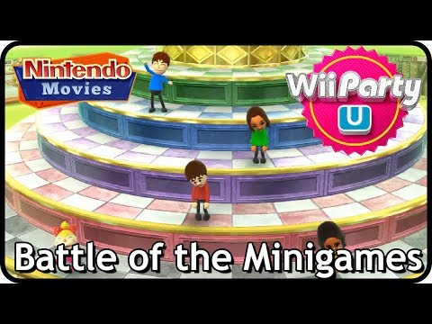 Wii Party U - Battle of the Minigames (Multiplayer)