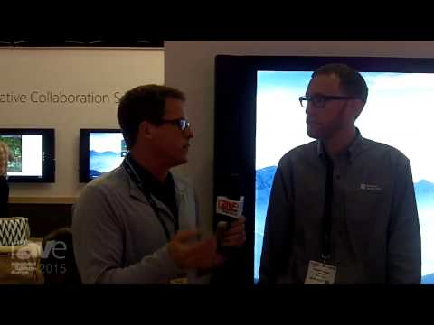 ISE 2015: Gary Kayye Speaks with Andrew Stillman About Microsoft's Surface Hub