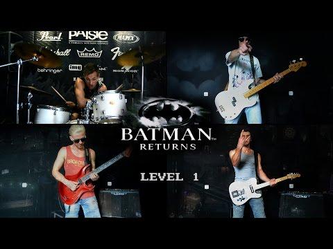 Batman Returns NES -  level 1 (cover by Eflavia)