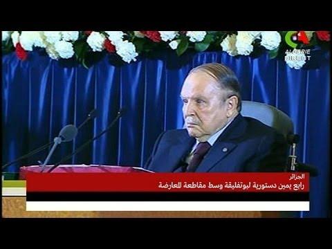 Algérie : le président Bouteflika a prêté serment pour son 4ème mandat