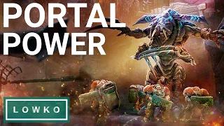 StarCraft 2: EXTREME Mutation - Portal Power on Brutal!