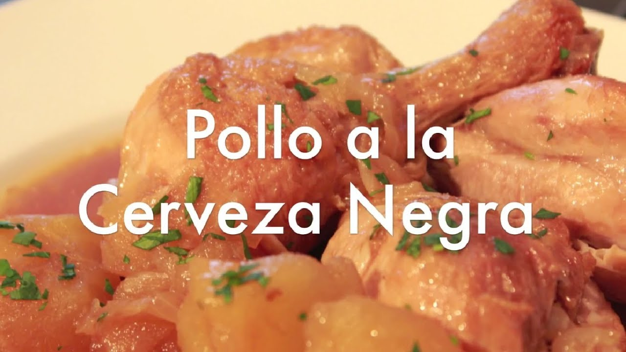 Pollo a la cerveza negra con patatas receta para olla r pida o a presi n olla express - Patatas en olla rapida ...