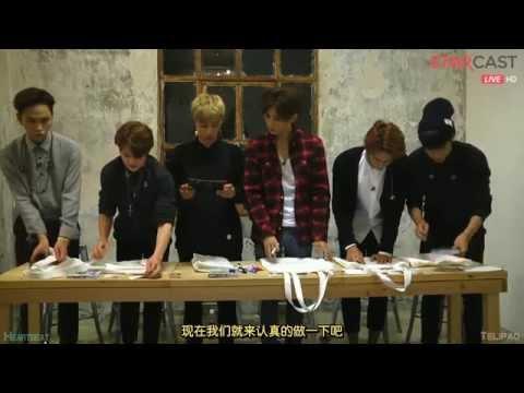 [中字hd]141016 Beast - 五週年5rd Anniversary Naver Starcast Live [兩站聯合] video
