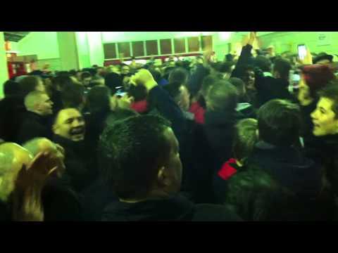 Man United fans sing about Adnan Januzaj at Stoke in 2013