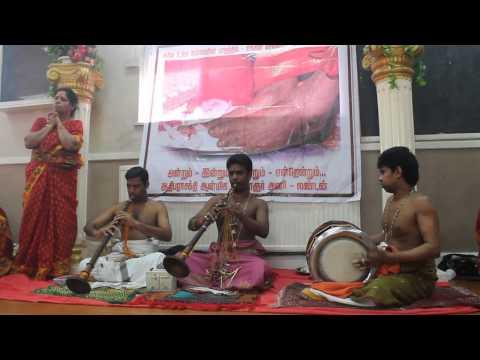 Nadhaswaram And Thavil - Navaratri Special - London Adhiparasakthi Mandram video
