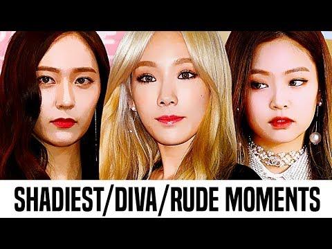 Kpop Female Idols ShadiestDivaRude Moments | Part 1