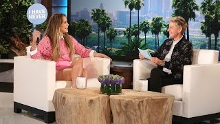 Download Song J.Lo and Ellen Play Never Have I Ever Free StafaMp3