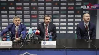 СКА – ЦСКА. Пресс-конференция