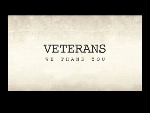 Thank You (a song to salute our Vets)