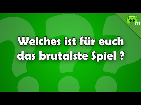 Welches ist für euch das brutalste Spiel ? - Frag PietSmiet ?!