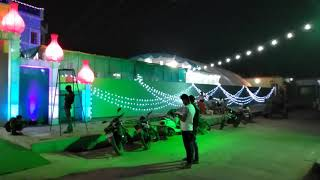 Fashion tent and light house mobile number 9519381164 pro fareed khan