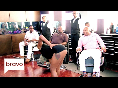 Married to Medicine: Is This a Barbershop or a Strip Club? (Season 4. Episode 7)   Bravo