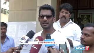 Vishal pleases not to use 'wrong words' towards Kamal Haasan | Tamil Nadu