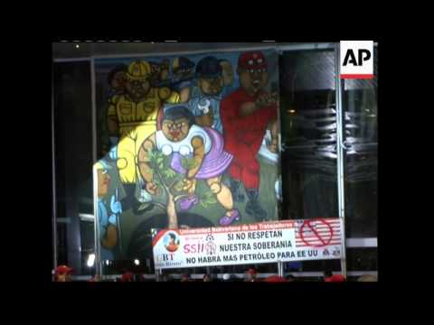 Chavez on state oil company's victory against Exxon, Olympic Games in China
