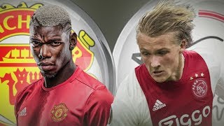 Ajax vs Manchester United 0-2 Full Match 1st Half - Europa League 24th May 2017
