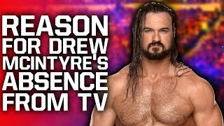 Reason For Drew McIntyre Not Being On WWE TV | NXT TakeOver Cancelled