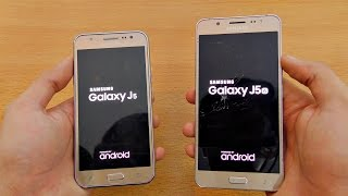 Samsung Galaxy J5 (2015) vs J5 (2016) - Speed Test! (4K)
