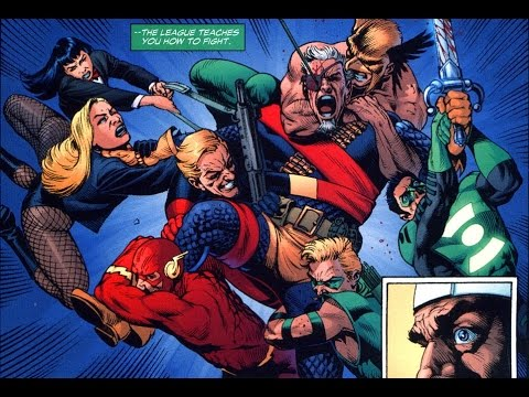 Дефстроук VS Лига Справедливости | Deathstroke VS Justice League