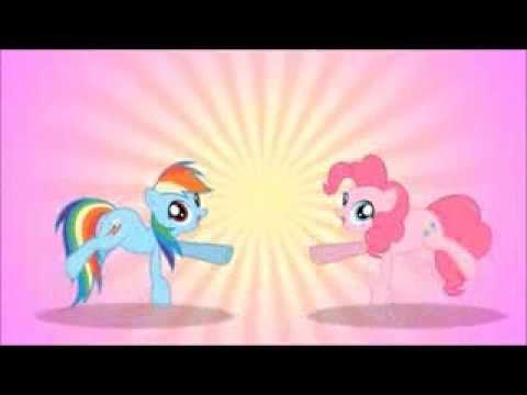 EKBRE 1 Pinkie Pie vs Rainbow Dash (Fundub PL)