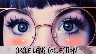 ? Uniqso ? Circle Lens 2017 collection GEO Anime Lens /Flash Mini Sclera Lens Nebulos