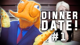 OCTODAD GOES ON A DATE! (Octodad Shorts #1)