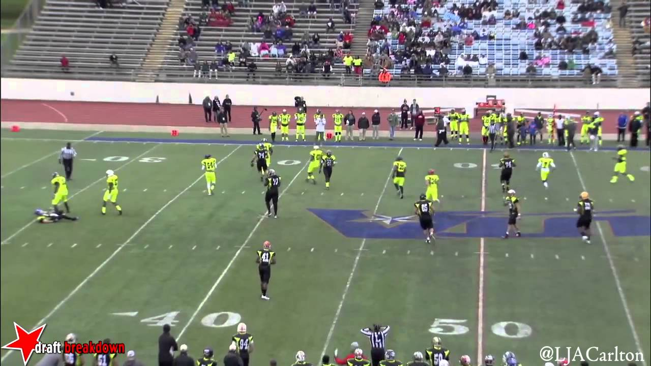 Davon Walls vs Desparados (College Gridiron Showcase) (2014)