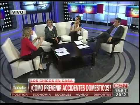 C5N - SALUD: ¿COMO PREVENIR ACCIDENTES DOMESTICOS?