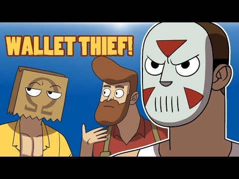 """Delirious Animated! (WALLET THIEF!) By Pegbarians! """"Finding Bigfoot"""""""