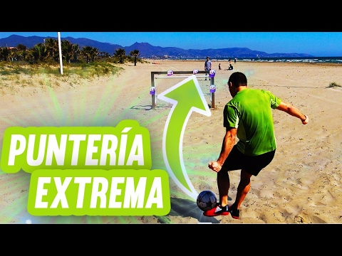 PUNTERIA EXTREMA | RETO DE FUTBOL!!