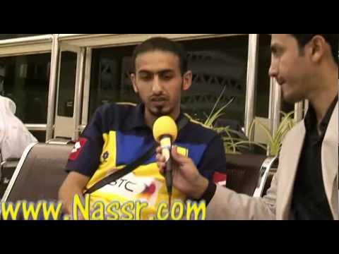 لقاء الكابتن احمد عباس في مطار الملك خالد.avi